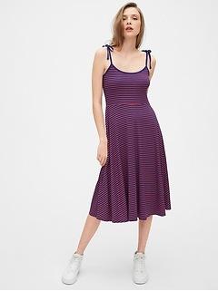 Tie-Strap Cami Dress