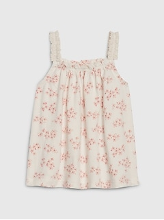 Baby Organic Lace Top