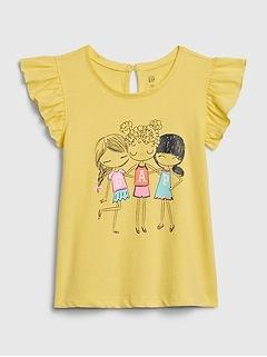 Toddler Bea Gap Flutter T-Shirt