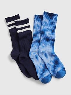 Kids Tube Socks (2-Pack)