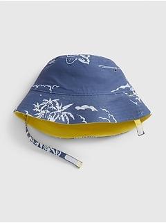 Chapeau de baignade réversible pour bébé