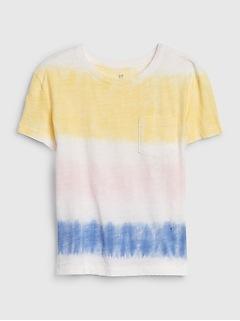 Kids Tie-Dye Pocket T-Shirt