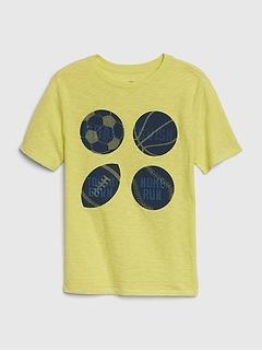 Kids 3D Hologram Graphic T-Shirt
