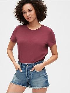 Shrunken Short Sleeve T-Shirt