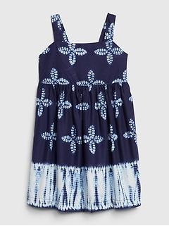Toddler Ikat Print Dress