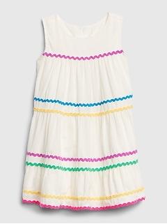 Toddler Ric-Rac Tank Dress