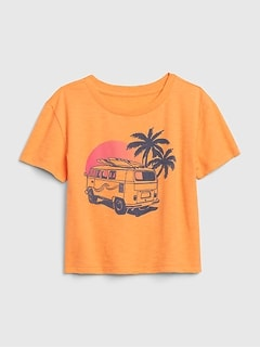 Kids Surf Graphic Boxy T-Shirt