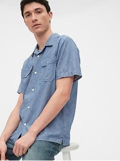 Chemise en cambrai, coupe ouvrier standard