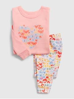 babyGap Butterfly Heart PJ Set