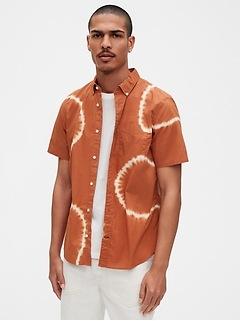 Lived-In Short Sleeve Poplin Shirt