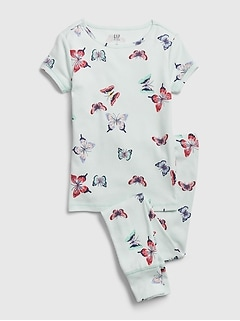 Kids Butterfly PJ Set