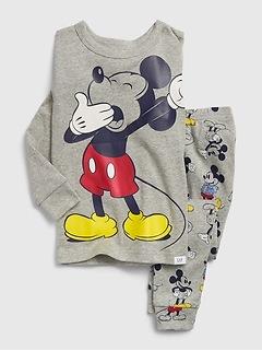 babyGap | Disney Mickey Mouse Yawning PJ Set