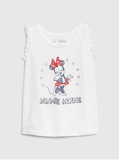 babyGap | Disney Minnie Mouse Ruffle Tank Top