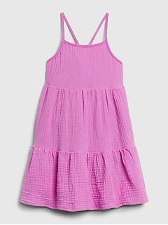 Toddler Gauze Dress