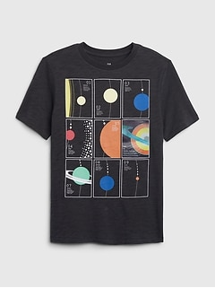 Kids Hologram Graphic T-Shirt