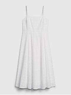 Squareneck Midi Dress