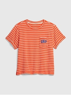 Gap Logo Pocket Sweatshirt in French Terry