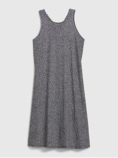 Twist-Back Tank Dress