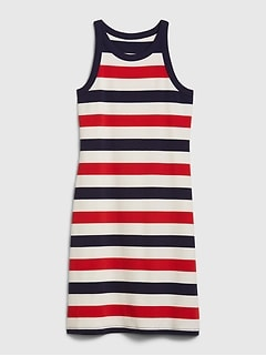 Sleeveless Halterneck Dress
