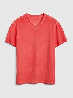 Sun Faded V-Neck T-Shirt