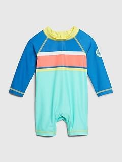 Baby Long Sleeve Swim One-Piece