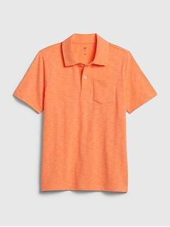 Kids Jersey Polo T-Shirt