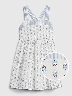 Toddler Paisley Strap Dress.