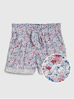 Toddler Floral Utility Shorts
