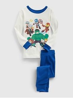 Pyjama babyGap à motifs des Avengers de Marvel