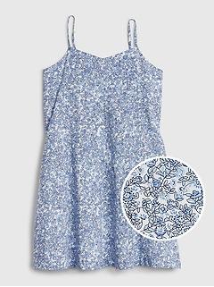 Kids Sleeveless Floral Dress
