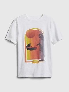 GapKids | StarWars™ Mandalorian Graphic T-Shirt
