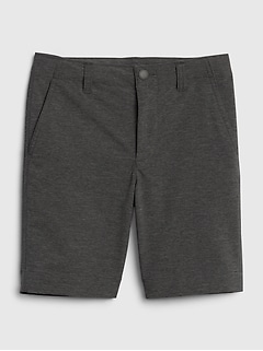 Kids Tech Shorts with Quick Dry