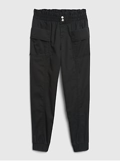 Kids High-Rise Utility Joggers