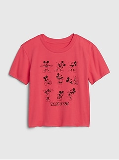 GapKids | Disney Mickey Mouse Graphic Boxy T-Shirt