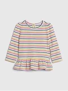Baby Mix and Match Peplum Shirt