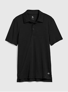 Kids GapFit Uniform Performance Polo Shirt