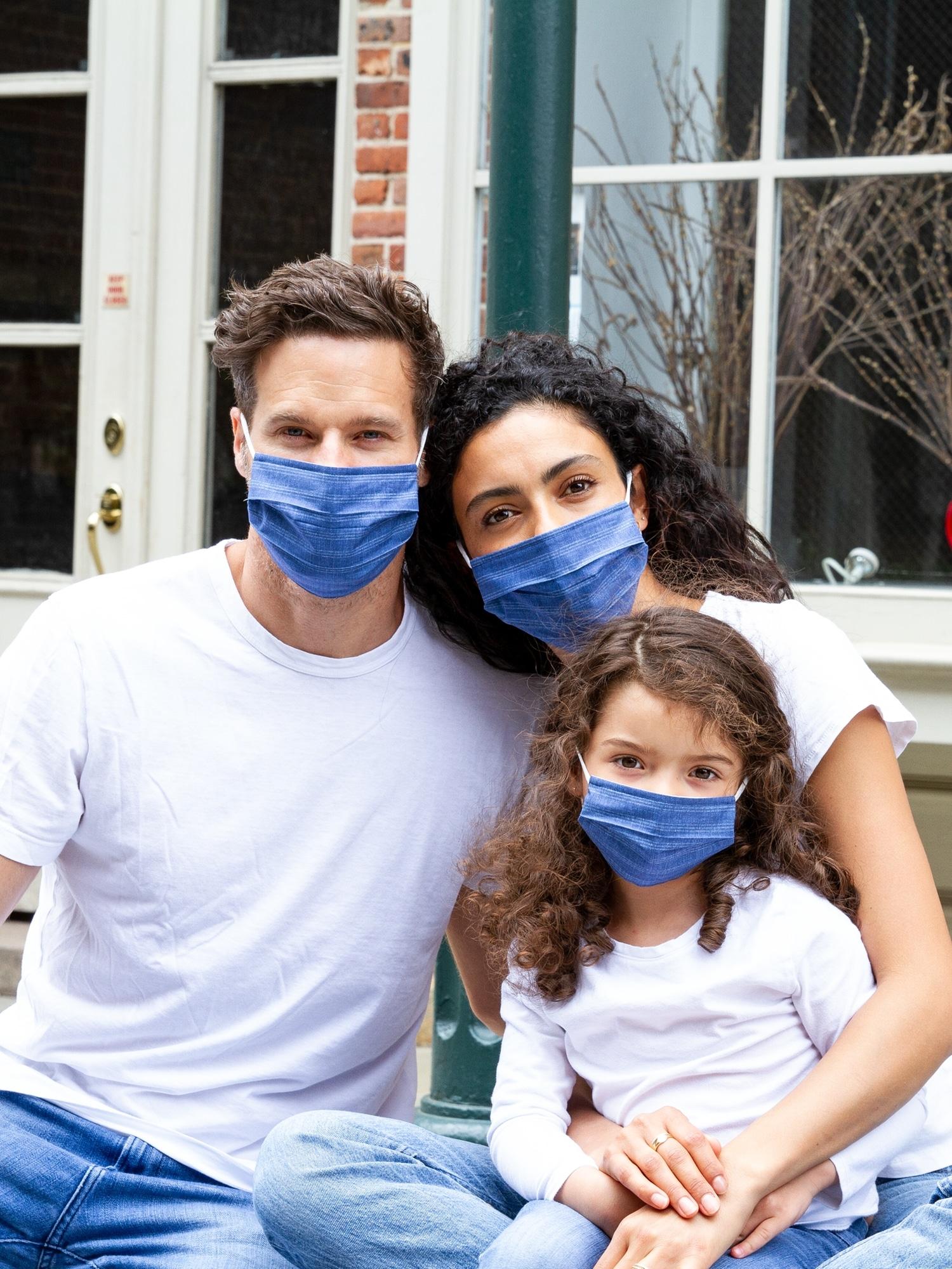 100/% Cotton Breathable /& Washable Child Masks KUONA Kids Face Mask Adjustable with Filter Pocket
