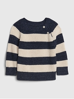 Baby Ribbed Crewneck Sweater