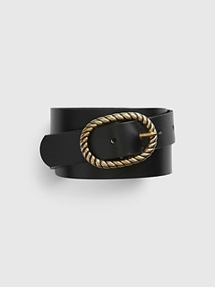 French Buckle Belt