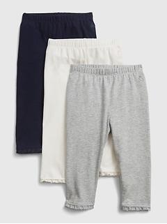 Pantalon à enfiler pour bébé (paquet de2)
