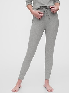 Ribbed Joggers in Modal