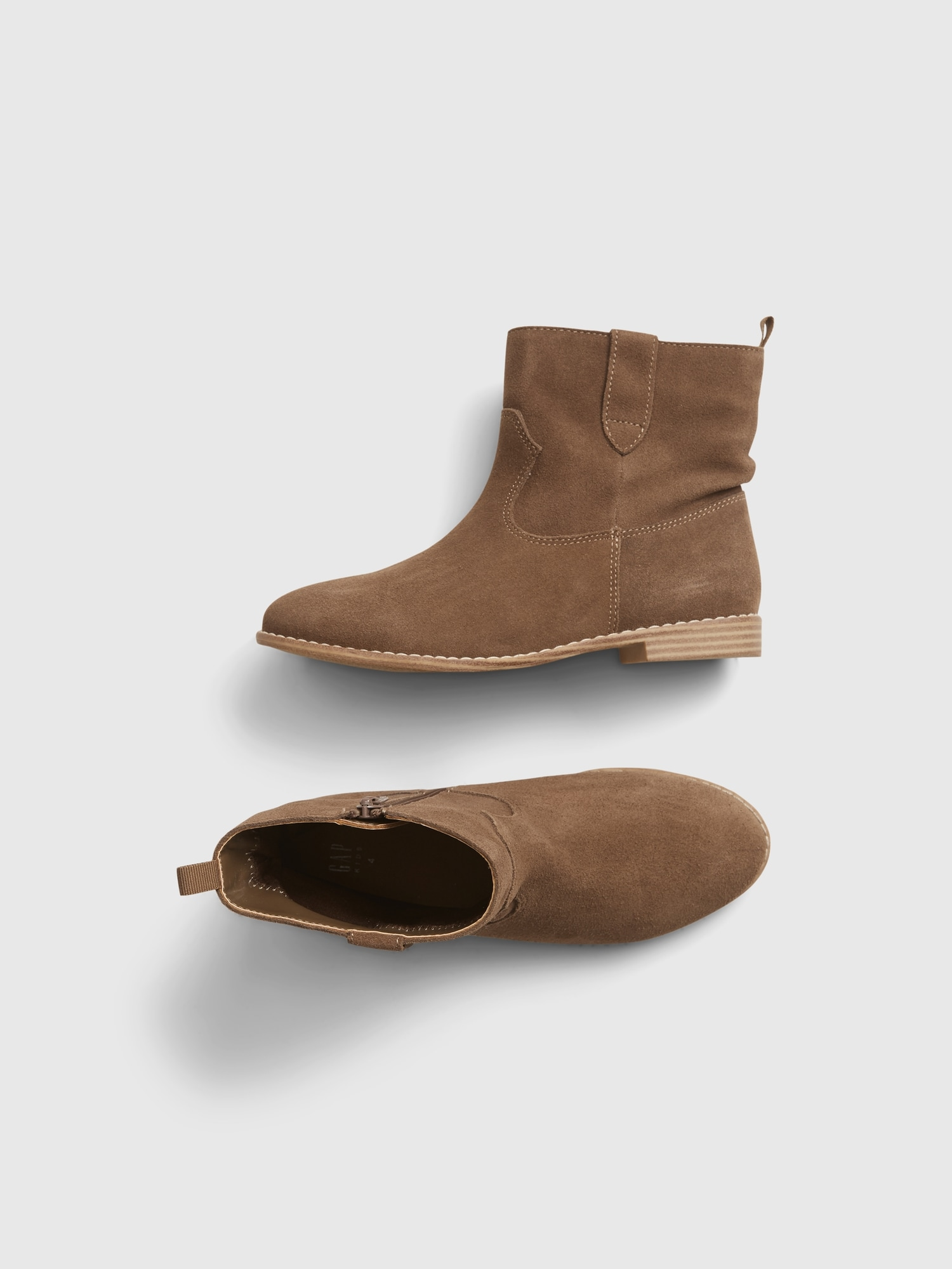 Kids Slouchy Ankle Boots | Gap