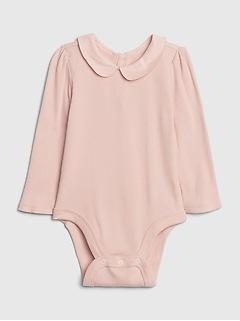 Cache-couche à col pour bébé