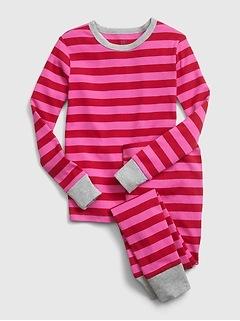 Kids Stripe PJ Set