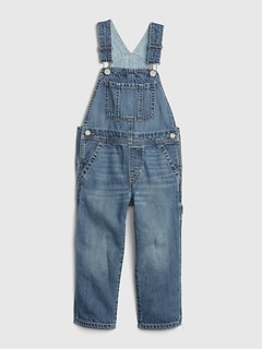 Toddler Denim Overalls with Washwell™