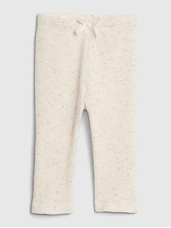 Pantalon en tricot gaufré à combiner au choix pour bébé