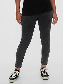 Maternity Inset Panel Skinny Jeans