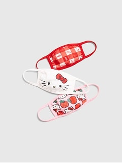 Kids Hello Kitty Face Mask (3-Pack)