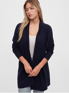 True Soft Open-Front Cardigan