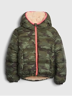 Kids ColdControl Max Reversible Puffer Jacket